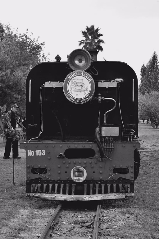 The Model A Club of SA had their special train behind NGG16 153 Picture by the Model A Club of South Africa
