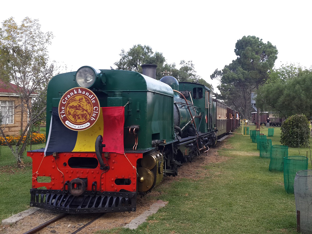 The Crankhandle Club from Cape Town had their own special train behind NGG16 88 Picture by Dave Richardson