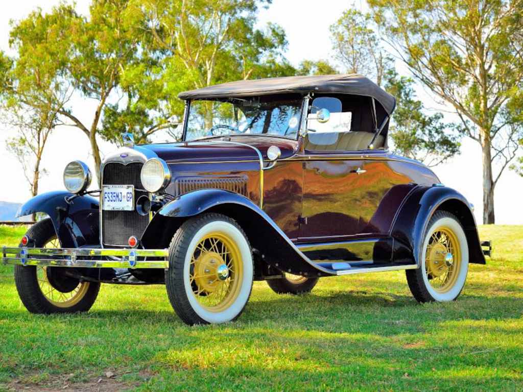 The classic lines of the Ford Model A convertible Picture by Gary McCrystal