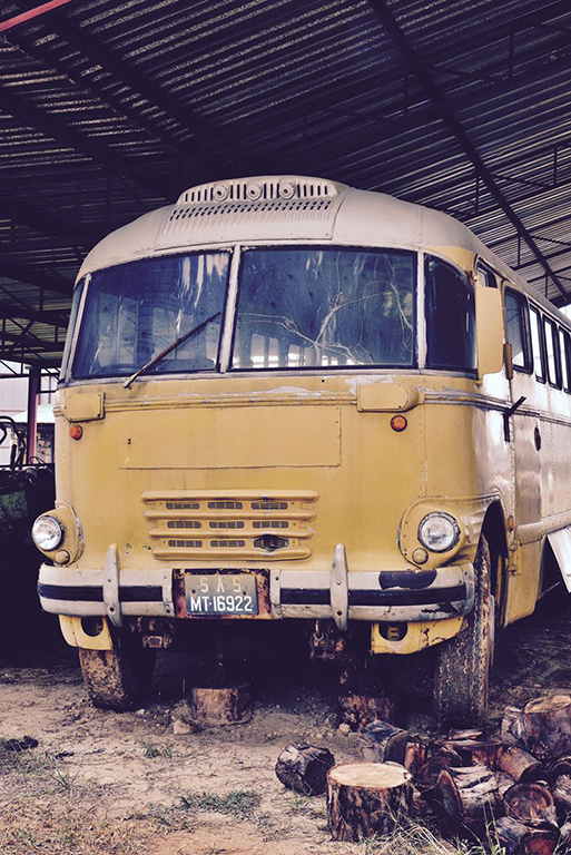 Sandstone's Brill bus, a future restoration project Picture by Gary McCrystal