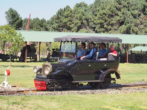 The BSA Railcar